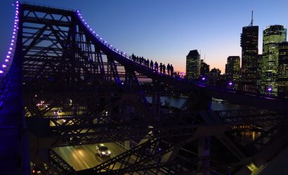 Brisbane Bridge Night Climb